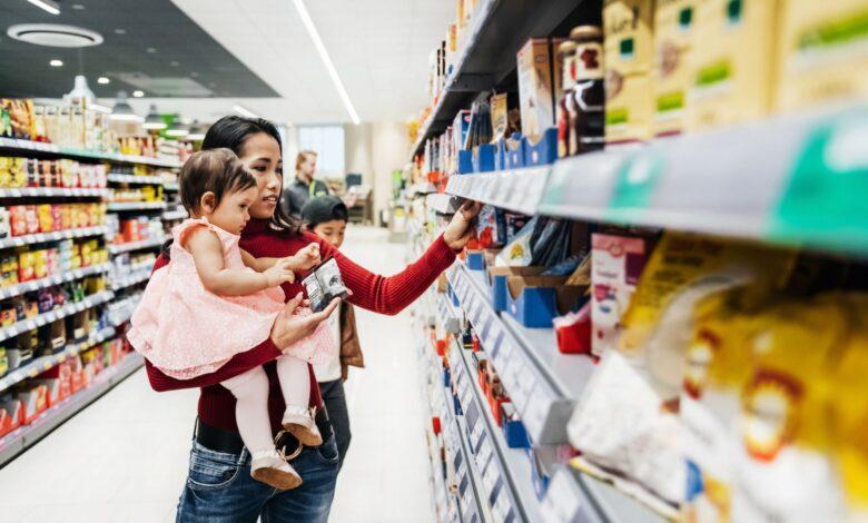 10 conseils pour faire les courses d'une grande famille