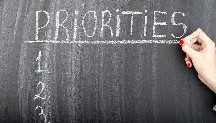Habitudes de réussite - Priorités