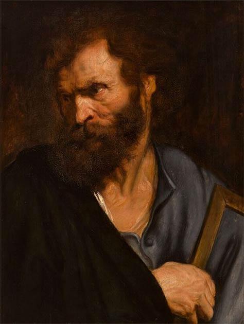 Saint Thaddée ou Saint Jude l'Apôtre. (Anthony van Dyck / Domaine public)