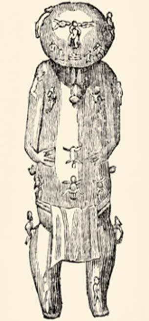 Ta'aroa, la divinité suprême de la Polynésie, créatrice du monde. (Hic et nunc / Domaine public)