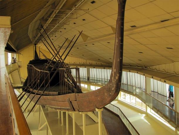 Le magnifique bateau de Khufu, Musée du bateau solaire, Gizeh, Egypte. (David Berkowitz / CC BY 2.0)