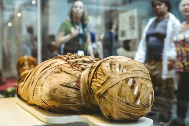 Une momie égyptienne ancienne. (Jaroslav Moravcik / Adobe stock)