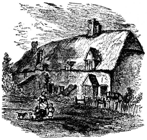 La maison de la mère Shipton.