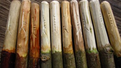 Ogham sticks