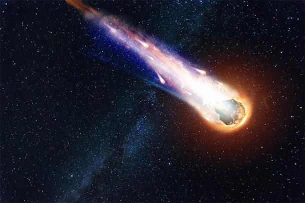 L'équipe de Keystone suggère qu'il y a eu une attaque de comète il y a environ 11 600 ans. (Aliaksandr Marko /Adobe Stock)