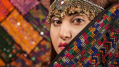 Kalash woman. Kalash people have a fascinating history and culture.