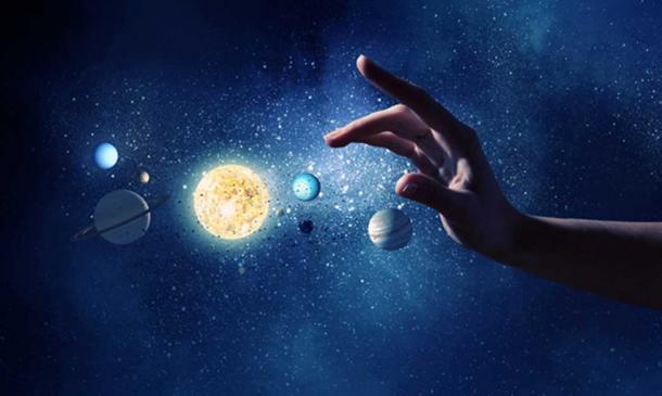 La création était les forces de la nature agissant sur les particules au fil du temps. (Sergey Nivens / Adobe Stock)