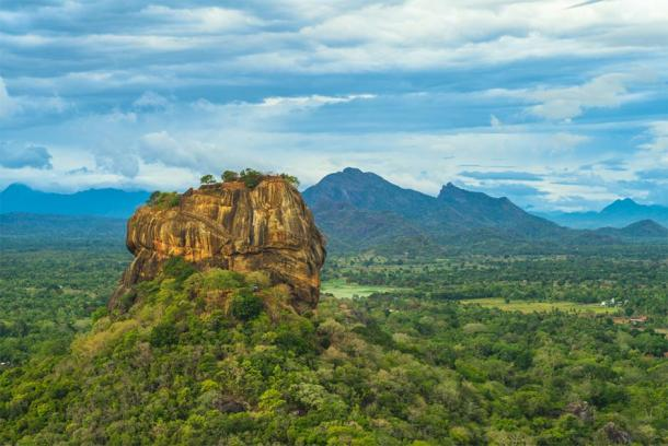 Sigiriya ou Lion Rock au Sri Lanka. (Richie Chan / Adobe stock)