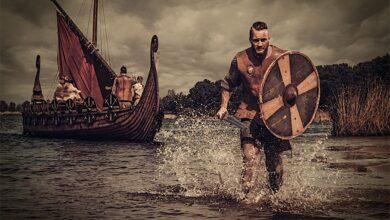 Representation of Vikings in South America. Source: Nejron Photo / Adobe stock