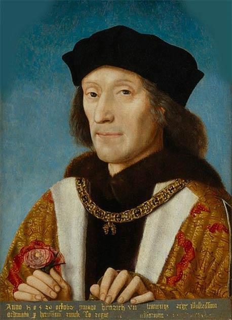 Portrait d'Henri VII d'Angleterre (1457-1509), qui a fondé la Maison de Tudor, qui est exposée à la National Portrait Gallery. (Domaine public)