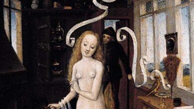 Rhineland Master. Love Magic, 1470s. Museum für bildende Künste, Leipzig.