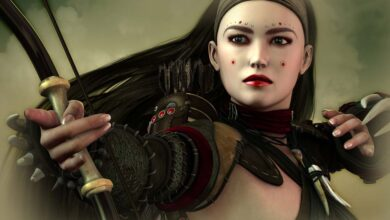 Chinese Warrior Woman