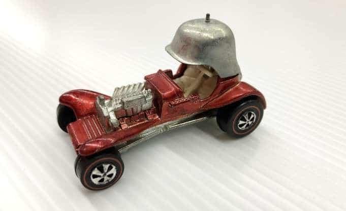 Les roues les plus chères - 1970 Red Baron (Intérieur blanc)