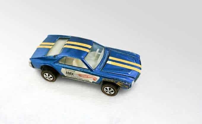Les Hot Wheels les plus chers - 1969 Ed Shaver Blue AMX