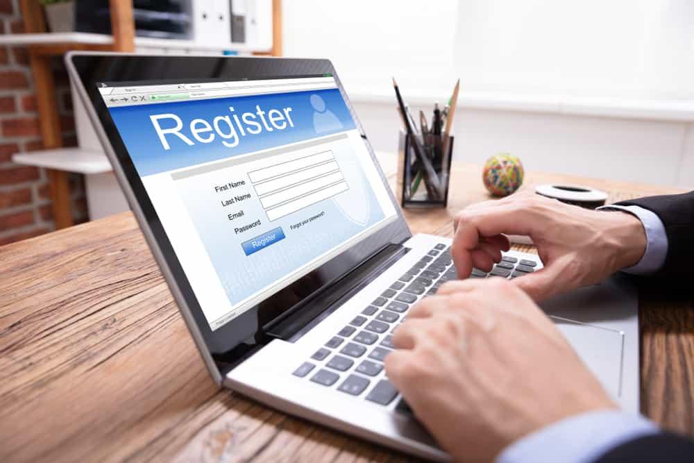 déposer le formulaire d'inscription en ligne