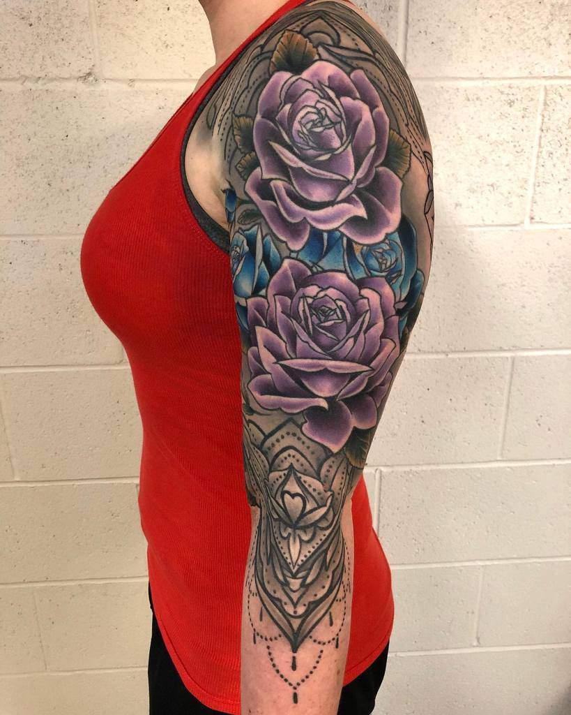 Tatouage de fleurs pour femmes i_am_blackwood