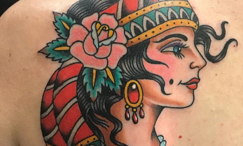 Top 69 Best Gypsy Rose Tattoo Ideas – [2020 Inspiration Guide]