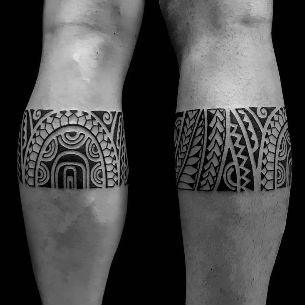 Tatouages de petites jambes tribales jonytattoo_.