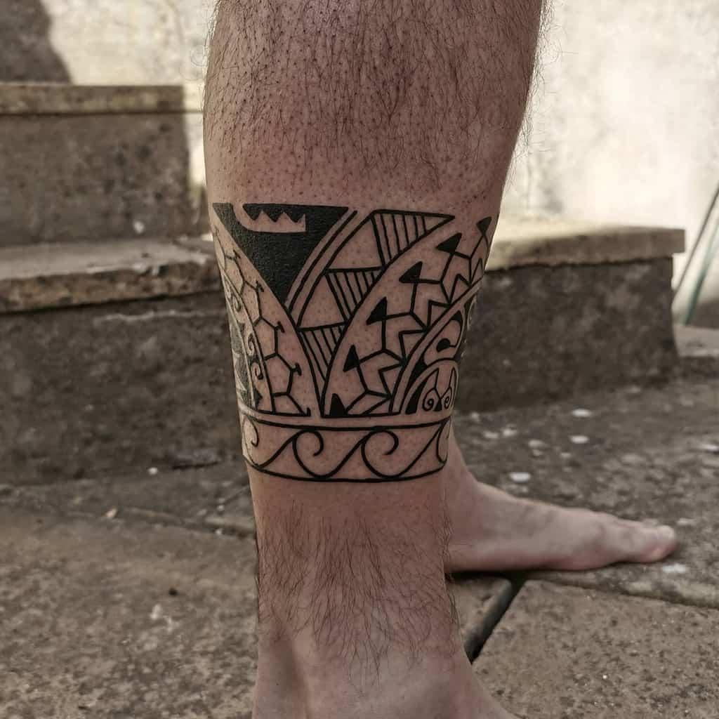 Petits tatouages tribaux polynésiens woodyeightfoldtattoo