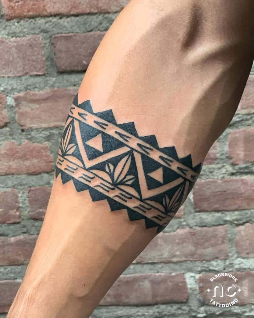 Petits tatouages tribaux polynésiens nickblacktattoo