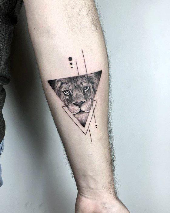 Tatouages nextluxury Petit lion avant-bras 1