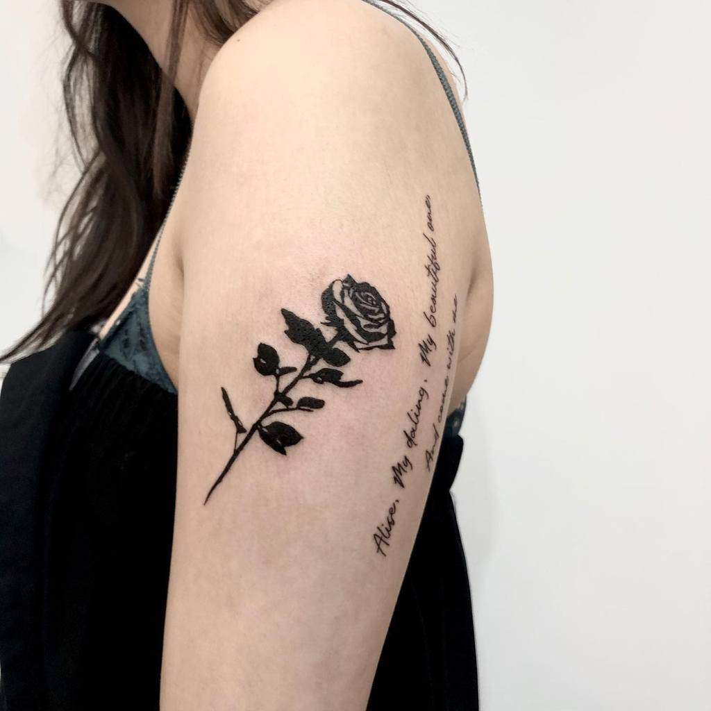 bras tribal rose tatouages ratatattoo_.