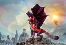 The legendary Welsh dragon. Credit: warpaintcobra / Adobe Stock