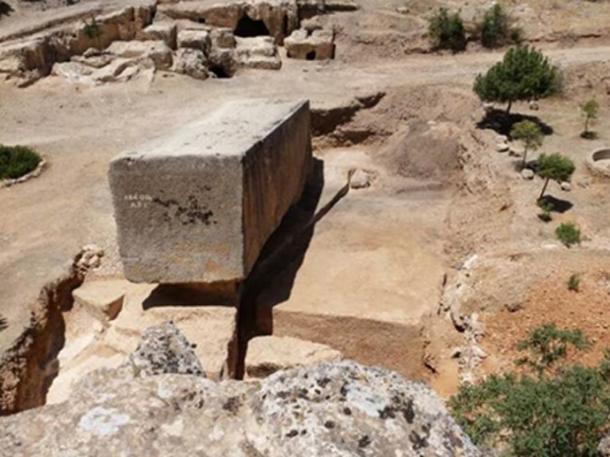 Le plus grand bloc de pierre antique connu au monde ! (auteur fourni)