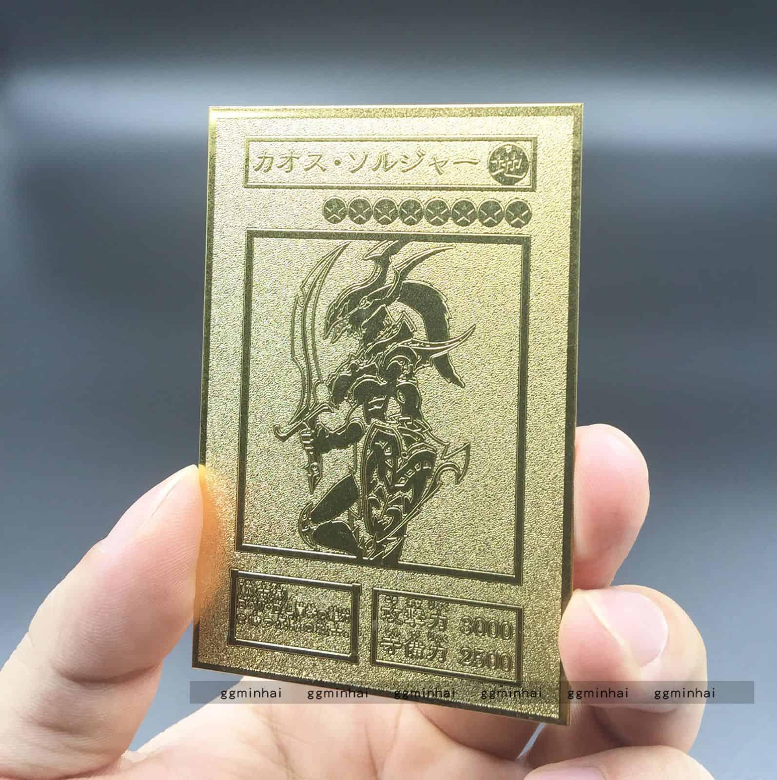 Les cartes Yu Gi Oh ! les plus chères - Soldat du tournoi Black Luster
