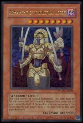 Les cartes Yu Gi Oh ! les plus chères - L'armement des seigneurs de la mort