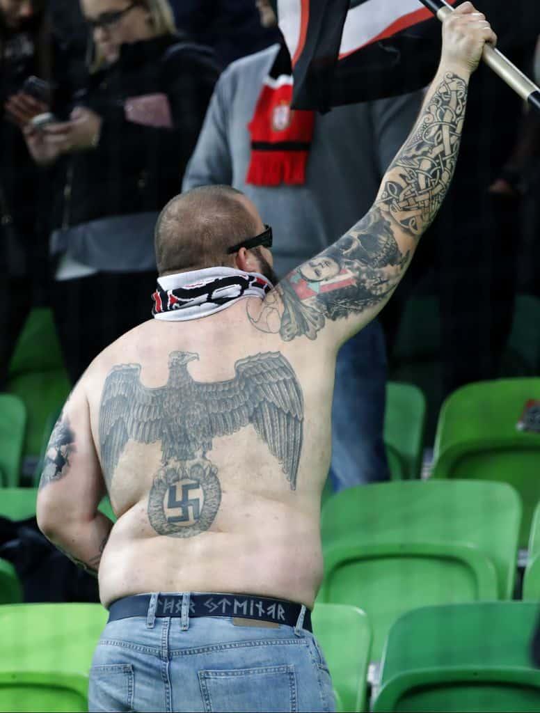 Tatouage nazi Hooligan de football