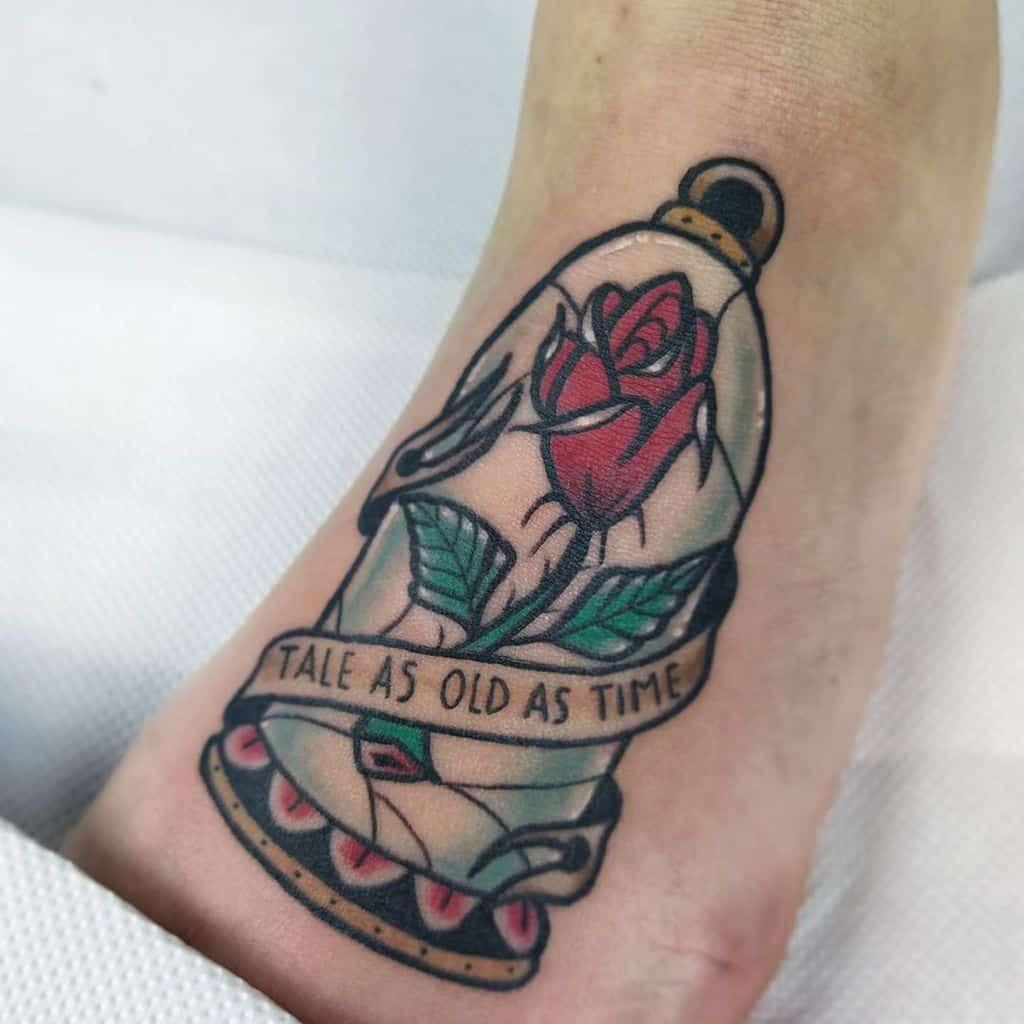 un conte aussi vieux que la beauté du temps et les tatouages de la bête rose niovi_vpt