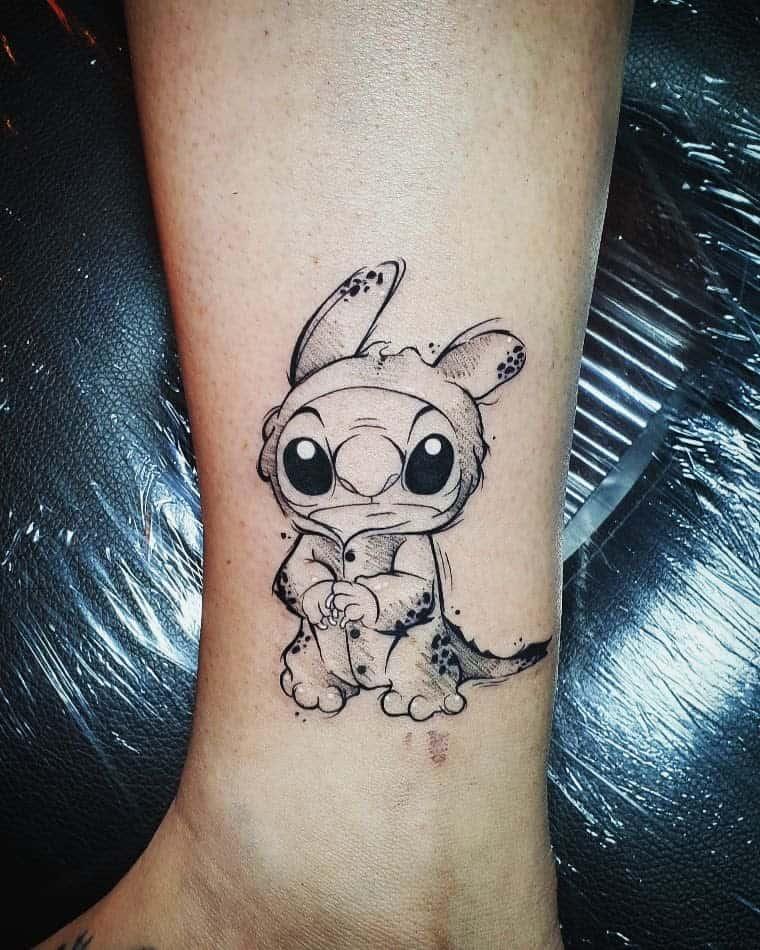 Petits tatouages de cheville Disney lissydameron lissydameron
