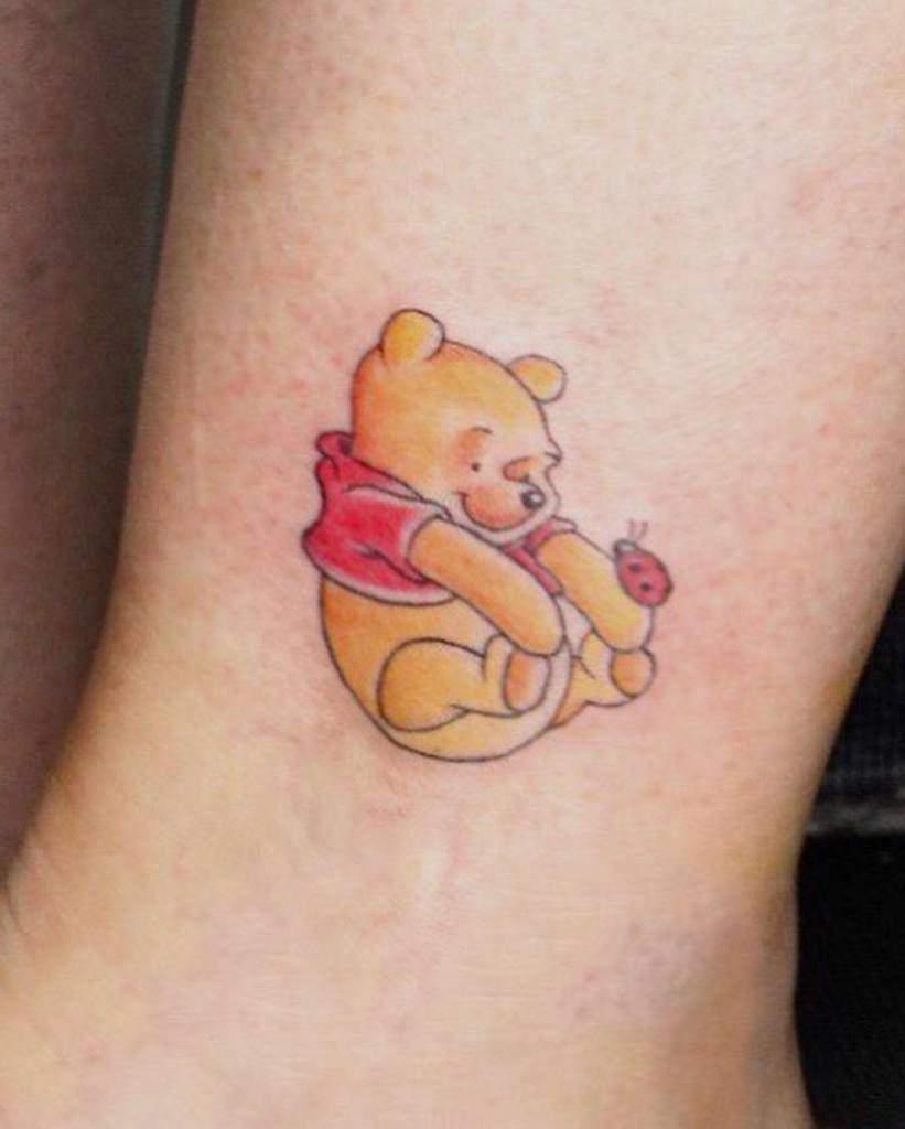 Petits tatouages de cheville Disney notoiresapiryahel