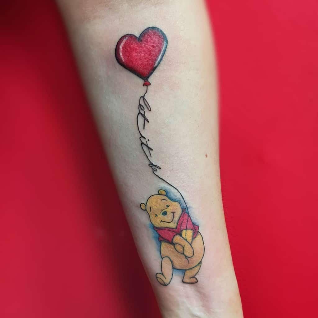 Petits tatouages Disney sur l'avant-bras fatamorganaarttattoo