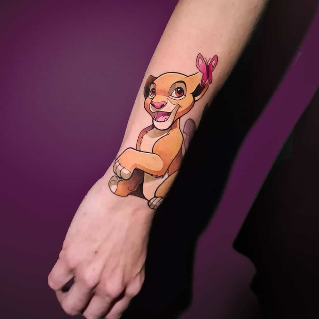 Petits tatouages de poignet Disney panko.tattoo