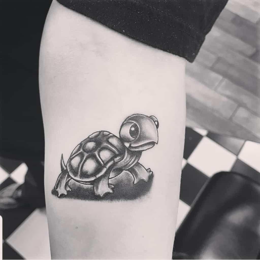 Tatouages d'avant-bras de petites tortues chupacabronterror
