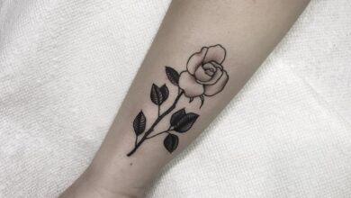 Top 51 Best Simple Rose Tattoo Ideas – [2020 Inspiration Guide]
