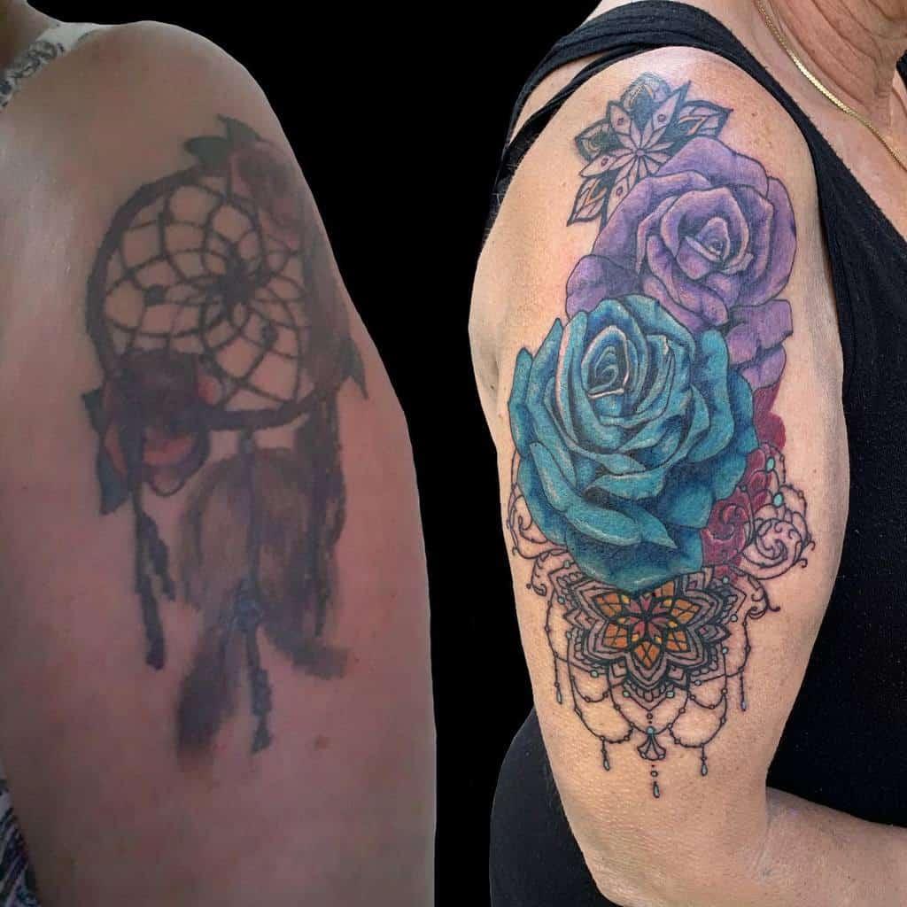 bras bleu rose tatouages aa8tattoos