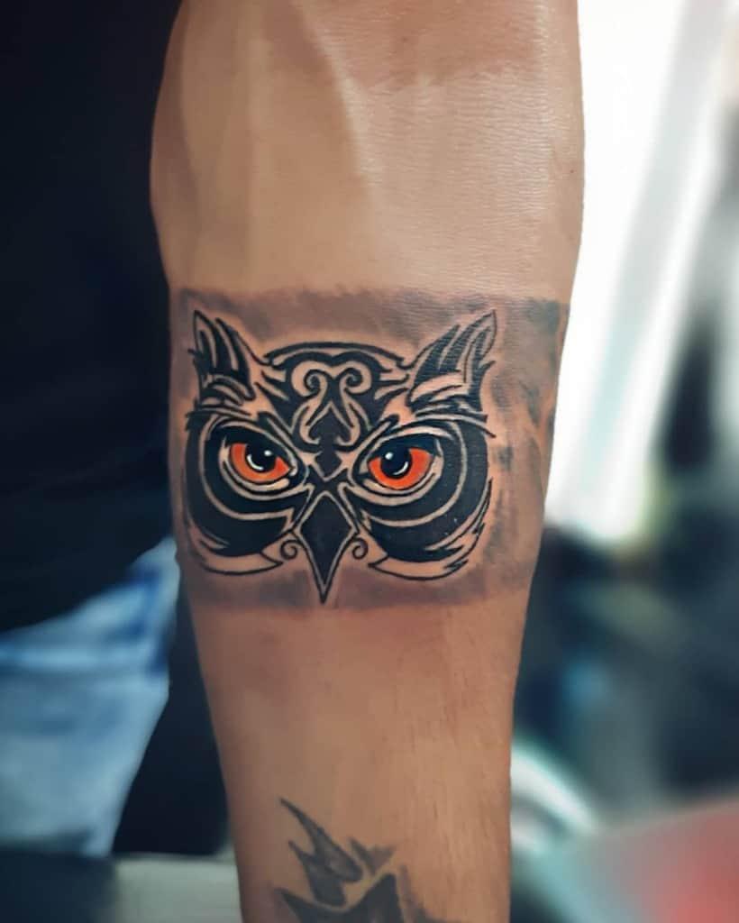 Tatouages d'avant-bras de petites chouettes bob_tattoo00