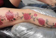 Top 81 Best Rose Vine Tattoo Ideas – [2020 Inspiration Guide]