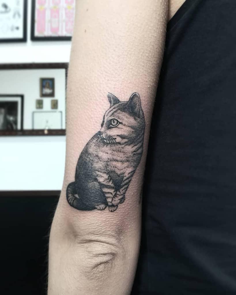 Tatouages de petits chats noirs lady_elle_wonderland