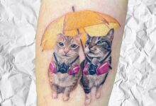 Top 71 Best Small Cat Tattoo Ideas – [2020 Inspiration Guide]