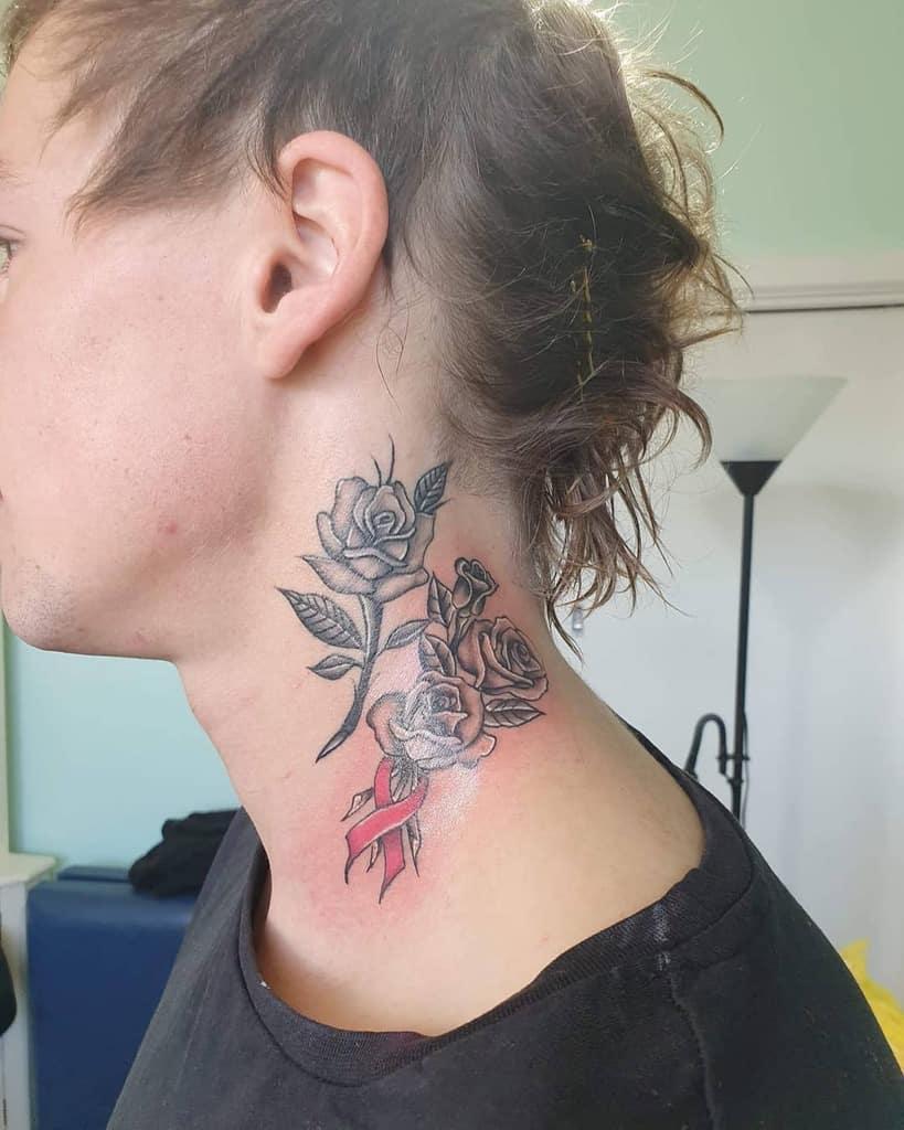 tatouages simples en col de rose lowkey_ink_epidermal_artistry