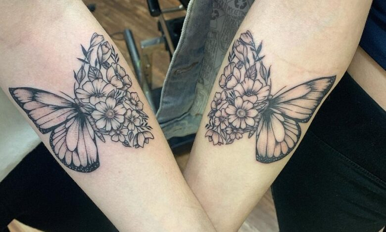 Top 65 Best Small Butterfly Tattoo Ideas – [2020 Inspiration Guide]