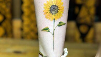 Top 57 Best Small Sunflower Tattoo Ideas – [2020 Inspiration Guide]