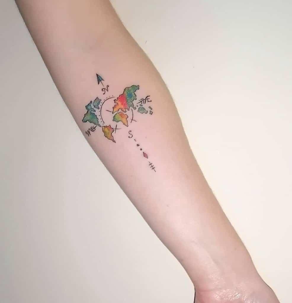 Petits tatouages d'avant-bras significatifs Prisoninksam