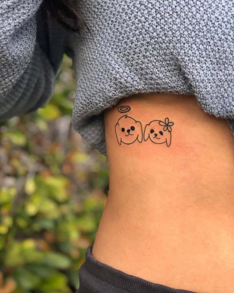 Petits tatouages de côtes significatifs Meliska.tor