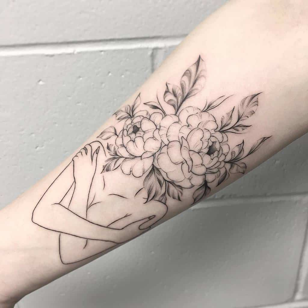 Tatouages d'avant-bras à petites fleurs 2 Terran.tattooart Css