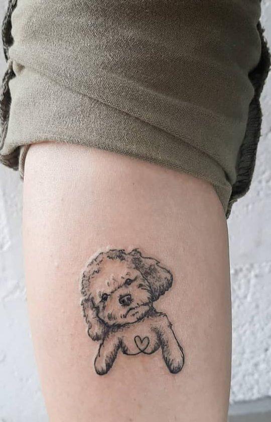Tatouages mignons de petits animaux Zahi.ink